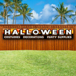 Halloween Costumes Decorations Advertising Vinyl Banner Flag Sign Large Sizes