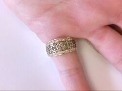 Very Nice Levian Si2-3 14k Yellow Gold Diamond Ring- Rounds. Approx. 1.70 Tcw