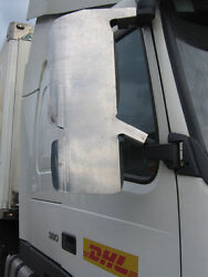 Volvo Fh Fm Version 2 Stainless Steel Mirror Guards. Truck Mirror Guards.