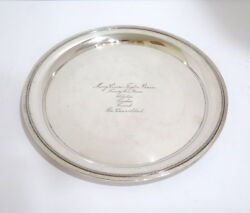 11.5 In - Sterling Silver And Co. Antique Plate