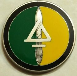 Delta Force Special Forces Green/yellow Internal Cag Tier-1 Army Challenge Coin
