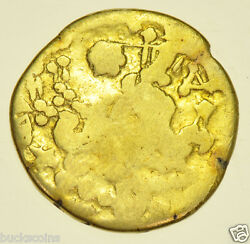Rare Gallo-belgic Ambiani Celtic Gold Stater [c.150-50bc] Hammered Gold Coin