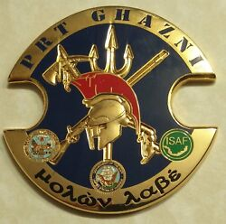 Provincial Reconstruction Team Ghanzi Oef Cdr O'lavin Navy Seal Challenge Coin