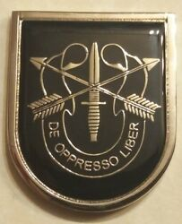 5th Special Forces Group Airborne 1st Battalion Commanders Army Challenge Coin