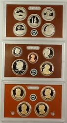 2013-s Us Mint 14 Coin Proof Set As Issued In Original Mint Packaging