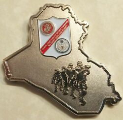 Marine Corps Security Command Baghdad Iraq Challenge Coin