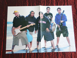 New Found Glory -  Pull-out Magazine Centre Page Picture - Rock