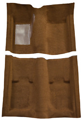 Acc 69-70 Ford Mustang Fastback Molded Carpet Rug W/o Folddowns - Choose Color