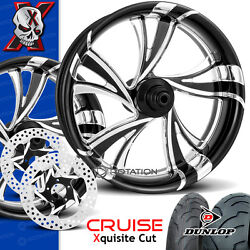 Xtreme Machine Cruise Xquisite Motorcycle Wheel Full Package Harley 21