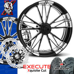 Xtreme Machine Execute Xquisite Motorcycle Wheel Full Package Harley 21