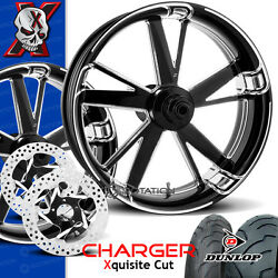 Xtreme Machine Charger Xquisite Motorcycle Wheel Full Package Harley 21