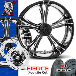 Xtreme Machine Fierce Xquisite Motorcycle Wheel Full Package Harley 21