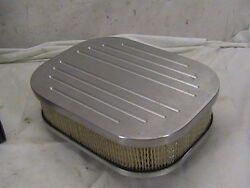 Vintage Air Cleaner Mr. Gasket Street Rod Aluminum Air Filter Rodware