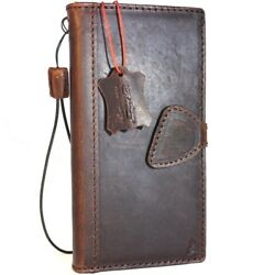 Genuine Real Leather Case For Samsung Galaxy Note 8 Book Wallet Magnetic Cover S