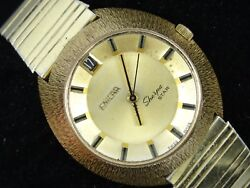 Rare Vintage 60's Enicar Sherpa Star 144-49-02 Date Automatic Men's Watch Work
