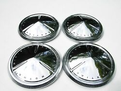 1960 Pontiac Motor Division Hubcaps Baby Moons Poverty Catalina Bonneville