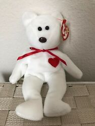 Extremely Rare Valentino Ty Beanie Baby With Origiinal And Suface Errors Pvc
