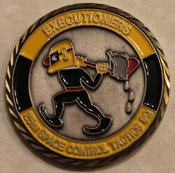 25th Space Control Tactics Squadron Executioners Air Force Challenge Coin