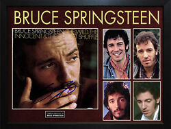 Bruce Springsteen Signed The Wild Album Cover Display Aftal Uacc Rd Coa Psa
