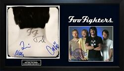Foo Fighters X4 Signed Nothing Left To Lose Album Cover With Custom Display Case