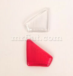 Mercedes 180 Ponton 1953-62 Clear Red Right Turn Signal Lens Set