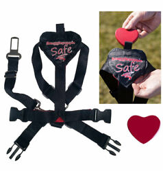 Smart Pet Love Safe & Sound Dog Harness in sizes XS to XL  helps reduce anxiety