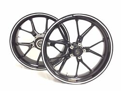 Ducati 749 Superbike Marchesini Front And Rear Wheels Rims - Straight