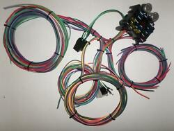 12 Circuit Ez Wiring Harness Chevy Mopar Ford Hotrods Universal X-long Wires