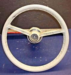 Vintage Wheel And Omc 172428 Helm Assembly