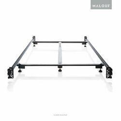 Structures Heavy Duty Steel Bed Frame With Hook-in Headboard And Foot Board