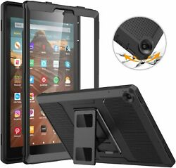 Moko 100 Shockproof Full Body Rugged Cover Case For Fire Hd 10 2019/2017