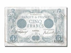 [200988] France 5 Francs 5 F 1912-1917 And039and039bleuand039and039 1916 Km 70 1916-11-15