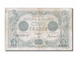 [200960] France 5 Francs 5 F 1912-1917 And039and039bleuand039and039 1915 Km 70 1915-09-28