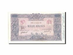 [210327] France 1000 Francs 1 000 F 1889-1926 And039and039bleu Et Roseand039and039 1919 Km67h