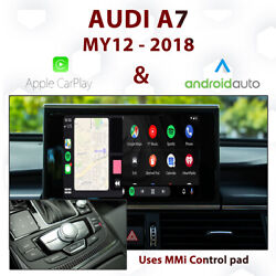 Audi A7 2011 - 17 - Touch Overlay Apple Carplay And Android Auto Integration