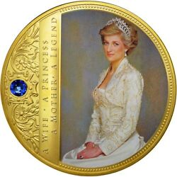 [550753] France, Medal, Portrait Of A Princess, Diana, Ms64, Copper Plated
