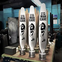36 Welcome To The Man Cave Custom Army Pinup Girl Real Airplane Propeller Blade