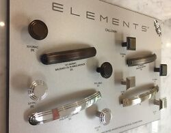 5 Pack_elements_calloway_kitchen Bath Cabinet Drawer Pull_arch Square Round