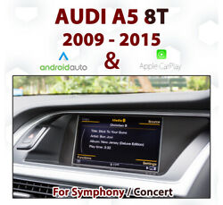 [touch] Audi A5 2009-17 Touch Overlay Apple Carplay And Android Auto Integration