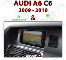 [touch] Audi A6 2009-10 Touch Overlay Apple Carplay And Android Auto Integration
