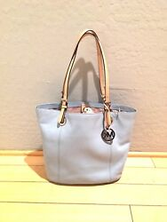 Michael Kors Sky Blue Bag Jet Set Tote NEW Designer Purse
