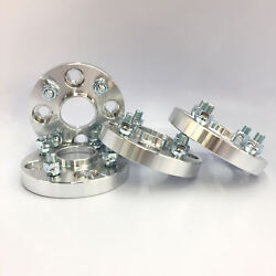 4x 20mm Hubcentric Wheel Spacers Adapters 4x100 12x1.5 54.1 Corolla Echo Mrs Mr2