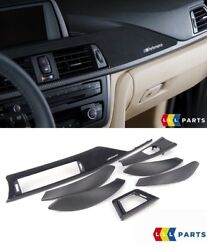 Bmw New Genuine F30 F31 F34 F36 M Performance Carbon Fiber Interior Trim Kit