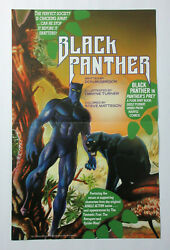 1990 Black Panther 17 x 11 Marvel comic book promo poster 1: Avengers movie hero