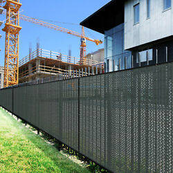 Customize 6and039 Ft Green Fence Privacy Commercial Screen Coated Polyester 280 Gsm