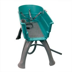 Booster Bath Elevated Dog Bath And Grooming Center Large Teal