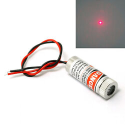 10pcs 650nm 5mw Red Laser Dot Diode Module With Cap And Driver In
