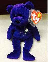 Princess Diana Ty Beanie Baby - Retired  Rare Mint Condition
