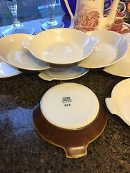 Lot Of 8 Coors Thermo Porcelain Pottery 474 Dishes Rare