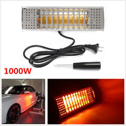 1000W 220V SprayBaking Booth Infrared Paint Curing Lamp Heating Light Heater